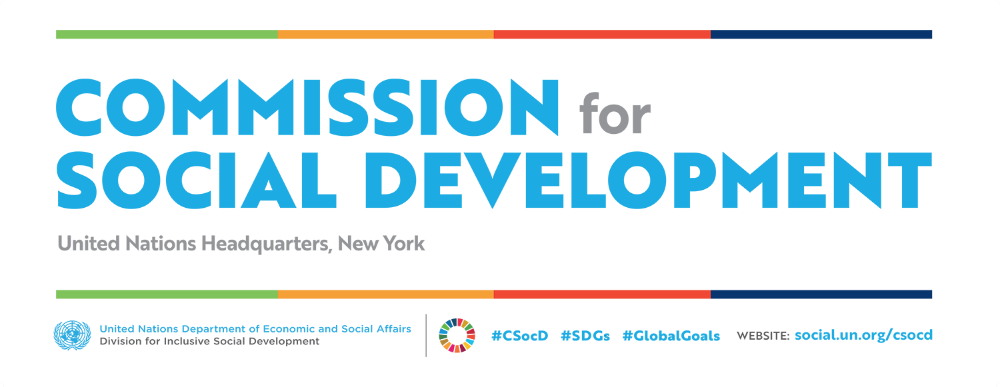 57th Session of the Commission for Social Development - CSocD57