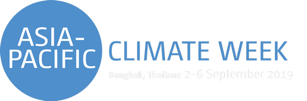 ASIA PACIFIC CLIMATE WEEK 2019