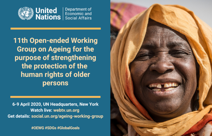 CANCELLED - Eleventh Session of the Open-Ended Working Group on Ageing
